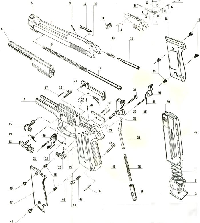 pistola taurus pt