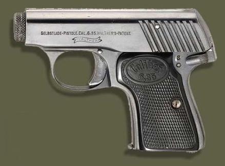 Pistolas walther rev 2 armas on line o modelo 1 por exemplo era uma pequena pistola blow back ou seja mecanismo que no utiliza o sistema de culatra trancada para o pequeno cartucho 6 fandeluxe Choice Image