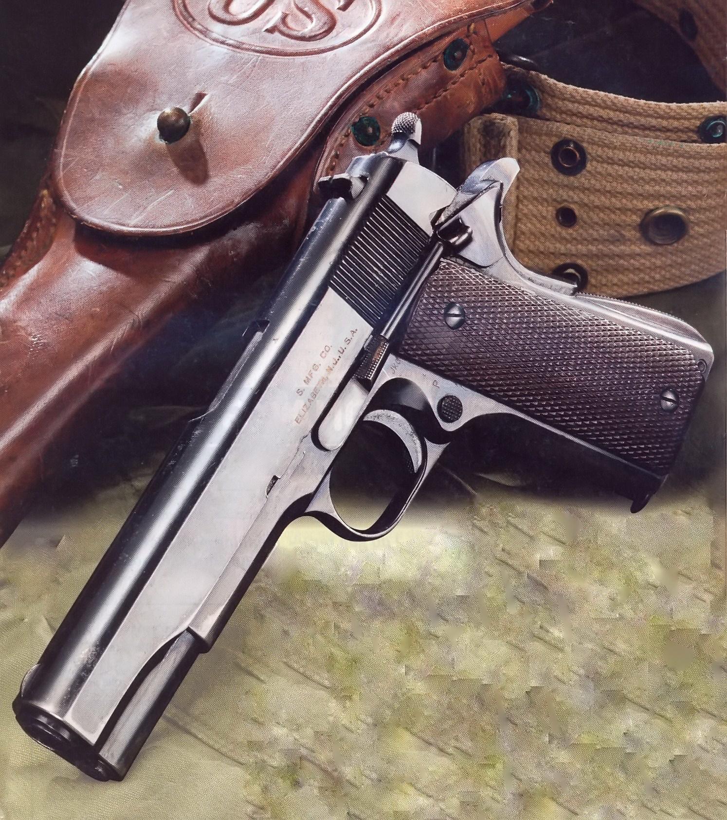 Pistola colt 1911 hist ria e desenvolvimento rev 1 for Uso e porte de arma