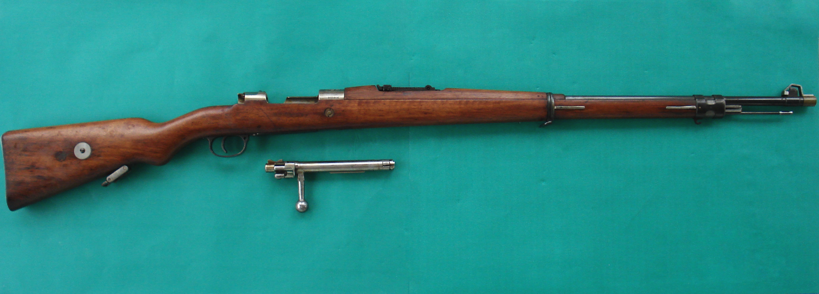 Galerry homemade bolt action rifle
