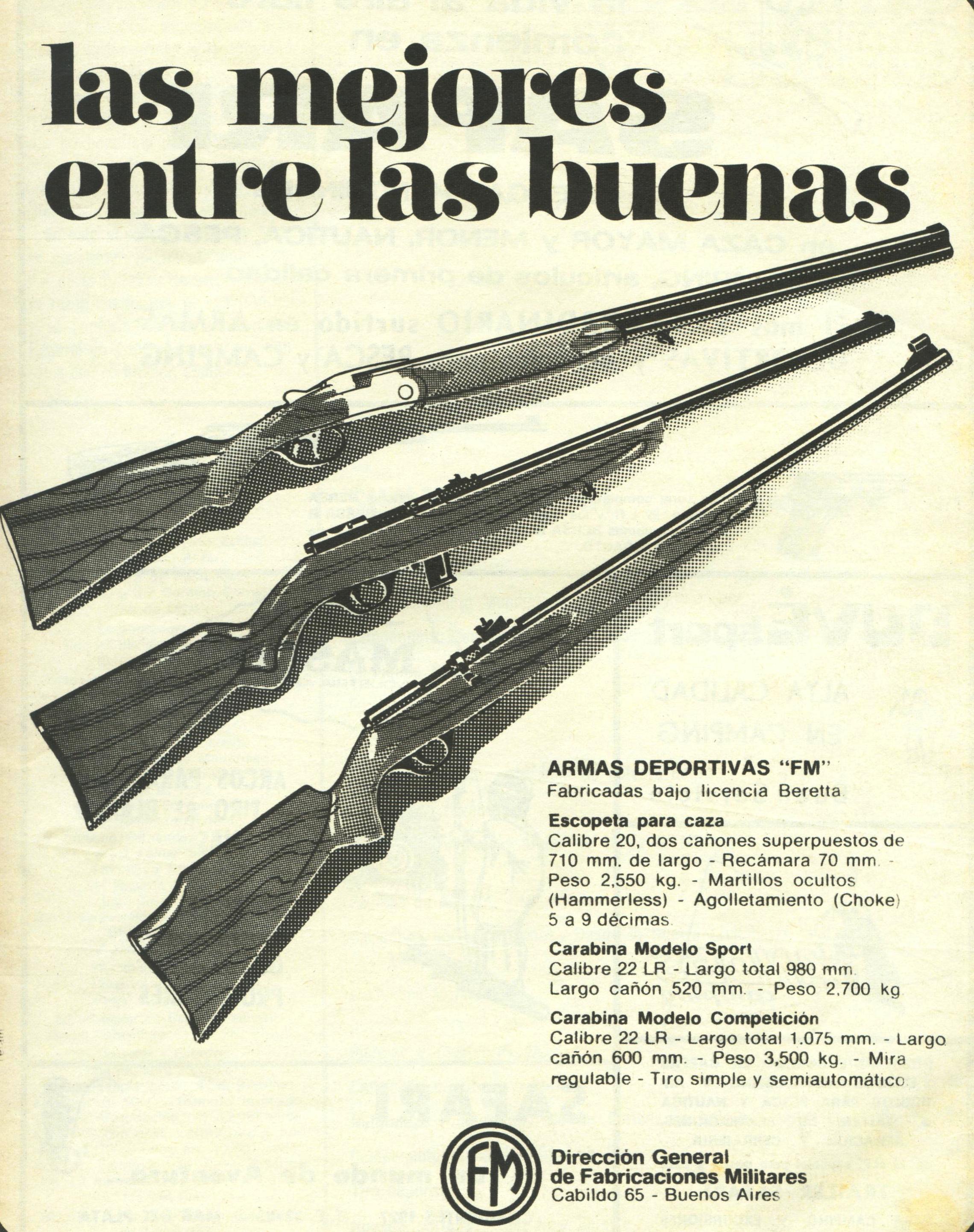 La industria de armas en Argentina