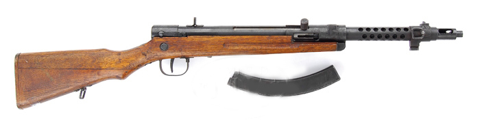 TYPE 100 SUB MACHINE GUN(1944 MODEL). SN 4988. Cal. 8mm nambu